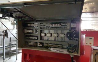 Paraffineermachine control cabinet